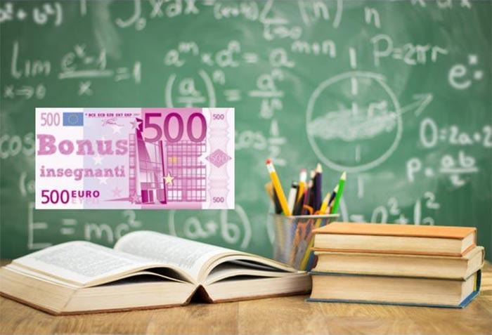 bonus insegnanti 500 euro